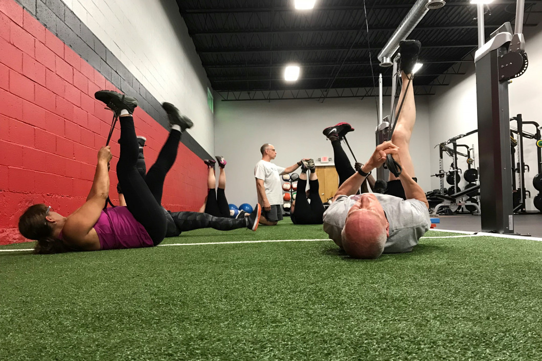 What does adult functional training involve?